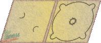 digipack jednołamowy tray wizytówka