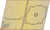 digipack a5 tray nacięcie