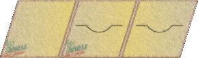 unipack trójskrzydłowy dwie płyty