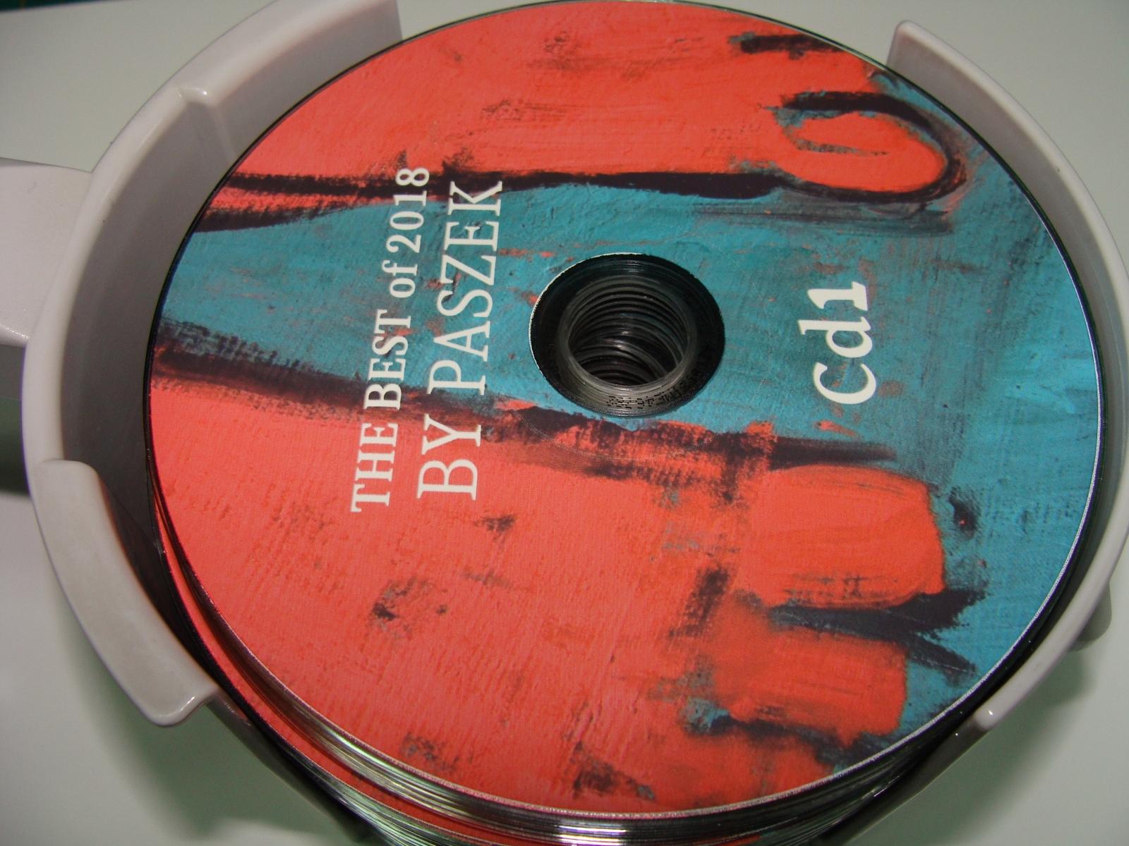 nadruki na plytach dvd cd