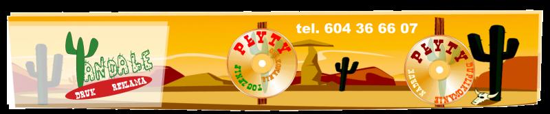 Nadruk na płytach, płyty z nadrukiem, duplikowanie płyt, tłoczenie płyt, opakowania na płyty- Lublin logo